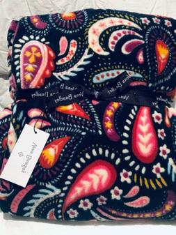 NWT Vera Bradley |Throw Blanket | Color Painted Paisley | 80