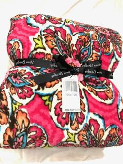 NWT Vera Bradley |Throw Blanket | Color Sunburst Floral | 80