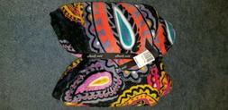 NWT Vera Bradley Throw Blanket in Twilight Paisley Print  50