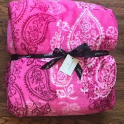 Vera Bradley - NWT - Throw Blanket - Stamped Paisley
