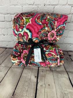 "NWT Vera Bradley Throw Blanket Sunburst Floral 50"" x 80"""