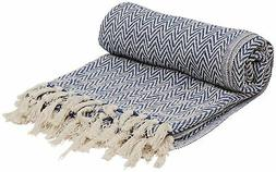 Sale on 100% Cotton Southwest Throws - SouvNear Chevron Herr
