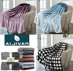 ombre gradient throw blanket for couch sofa