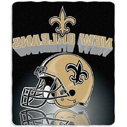 New Orleans Saints Light Weight Fleece NFL Blanket