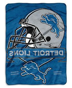 Oversize Throw Detroit Lions NFC Royal Plush Super Soft NFL