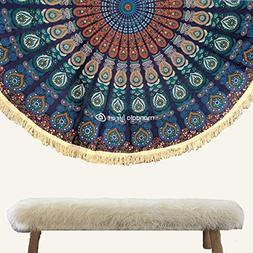 Oversized Bohemian Decor Round Mandala Wall Hanging Tapestry