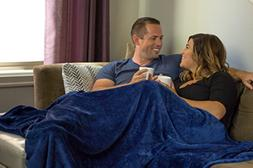 Higher Comfort Oversized Luxuriously Soft Throw Blanket - Na