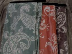 Oversized Super Soft Throw Blanket 50x70 Paisley Sofa Bed Co