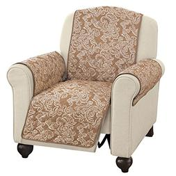 Collections Etc Paisley Reversible Furniture Protector Cover