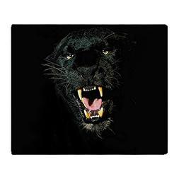 "CafePress Black Panther Face Soft Fleece Throw Blanket, 50""x"