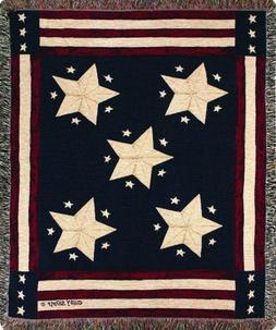Manual Patriotic Collection 50 x 60-Inch Tapestry Throw, Lon