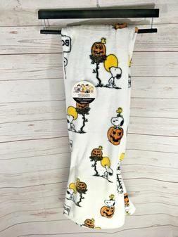 Peanuts Berkshire Halloween Throw Blanket Velvet Soft Snoopy