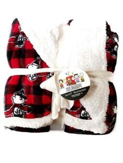 Berkshire Blanket Peanuts Gang VelvetSoft Holiday Snoopy Thr