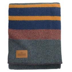 Pendleton Twin Size Yakima Camp Lake Blanket - 86% Wool and