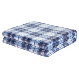 OTRON Premium Pet Blanket - Classic Plaid Fleece Throw For D