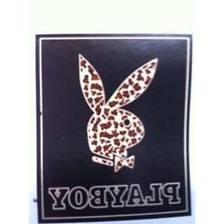 "Playboy Throws Leopard Print Blanket 50""x60"" Home Kitchen"