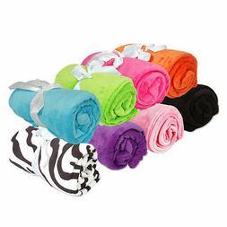 plush fleece blanket throw new 50 x