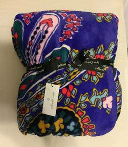 Vera Bradley Plush Throw Blanket,  Fleece, One Size