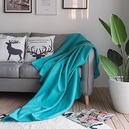 Polar Fleece Blanket Twin Size Soft Warm Lightweight Couch B