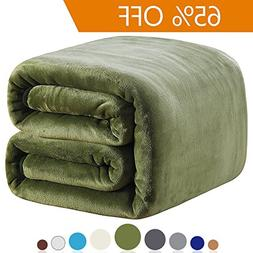Polar Fleece Blankets Twin Size for The Bed Extra Soft Brush