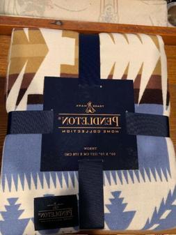 "Pendleton Polyester Blend Silver Bark Throw Blanket 50"" x 70"
