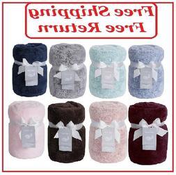 Swift Home Premium Plush Throw Blanket, 60'' x 70''