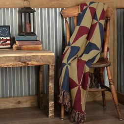 providence pinwheel jacquard woven throw