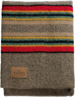 Pendleton Yakima Camp Thick Warm Wool Indoor Outdoor Striped