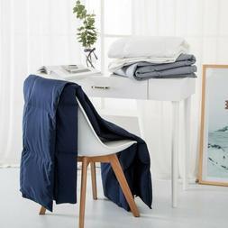 "Quilt Ultra Thin Lightweight Down Blanket Throw 50 x 70"" Hom"