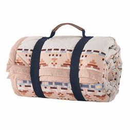 Pendleton Roll Up Throw Machine Washable,Includes Carrying H
