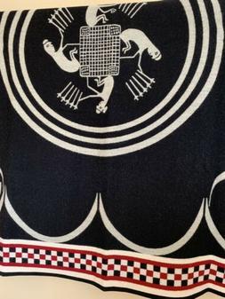 Romona Sakiestewa Southwestern Native Camp Wool Blanket LE 2