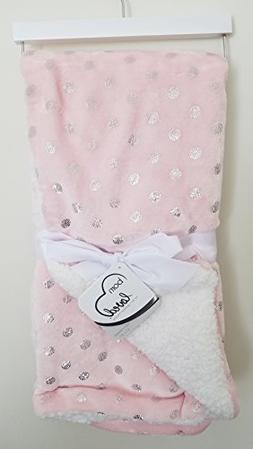 Sam Salem & Sons Soft Plush Baby Blanket Embossed Fleece Rev
