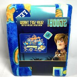 Scooby Doo Silky Soft Throw Blanket The Mystery Machine 40 X