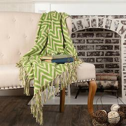 VHC Brands Seasonal Boho & Eclectic Pillows & Throws Chevron
