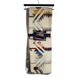 Pendleton Sherpa Aztec Southwestern Boho Aztec Pattern Throw