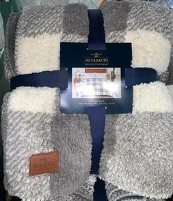 Pendleton Sherpa Fleece Blanket Queen Or King Size