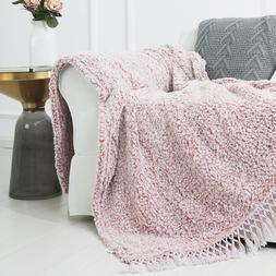 Sedona House Sherpa Fleece Blanket Throw Back Printing Blank