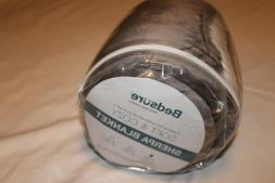 Bedsure Sherpa Fleece Blanket Throw Fuzzy Gray Plush Soft 50