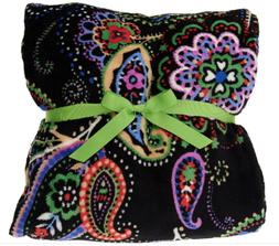 Vera Bradley Signature Print Throw Blanket NEW Kiev Paisley