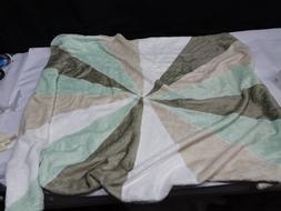 Deny Designs Small Throw Blanket 30 x 40 Geometric Pinwheel