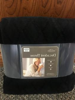 soft fleece polyester throw blanket