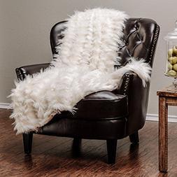 Chanasya Soft Shaggy Fuzzy Fur Long Mangolian Faux Fur Cozy