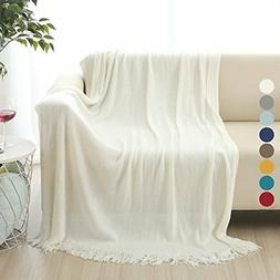 Soft Throw Blanket Warm and Cozy for Couch Sofa Bed Beach Tr