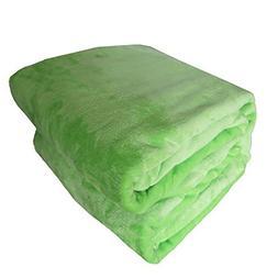 sxbora Soft Warm Flannel Fleece Blanket Lightweight Plush Mi