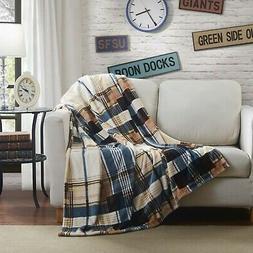 Soft Winter Cabin Super Flannel Striped Tartan Plaid Checker
