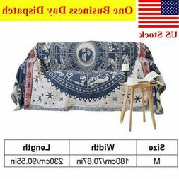 Soft Woven Throw Blanket Cozy Sofa Bed Couch Cover Bedroom D