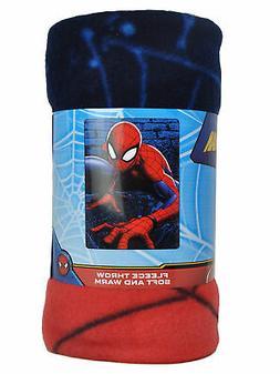 UPD Spiderman Web Lines 45x60 Fleece Throw Blanket