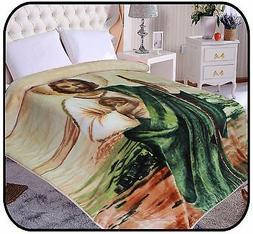 Hiyoko St. Jude Mink Blanket Throw Bedspread Comforter Cover