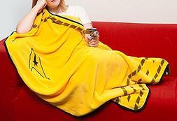 """Star Trek Commander Fleece Uniform Blanket Throw - 45""""x60"""""""