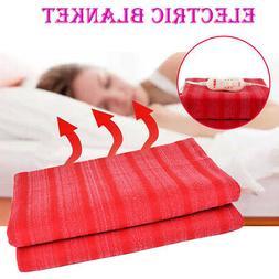 Sunbeam Fleece Heated Electric Throw Blanket With Controller